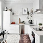 современный кухонный гарнитур фото варианты
