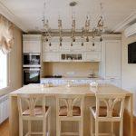 современный кухонный гарнитур идеи варианты