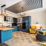 современный кухонный гарнитур фото идеи