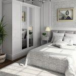спальня со светлой мебелью дизайн идеи