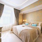 спальня со светлой мебелью идеи дизайн