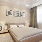 спальня со светлой мебелью идеи дизайна