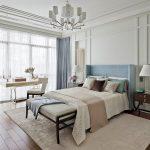 спальня со светлой мебелью фото интерьера