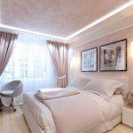 спальня со светлой мебелью идеи
