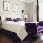 спальня со светлой мебелью оформление идеи