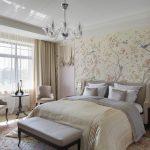 спальня со светлой мебелью идеи оформление