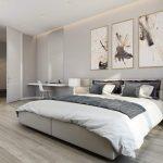 спальня со светлой мебелью идеи вариантов