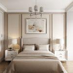 спальня со светлой мебелью фото видов