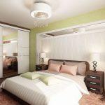 спальня со светлой мебелью виды идеи