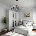 спальня со светлой мебелью фото идеи