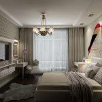спальня со светлой мебелью фото дизайна