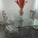 стеклянный стол стандартный
