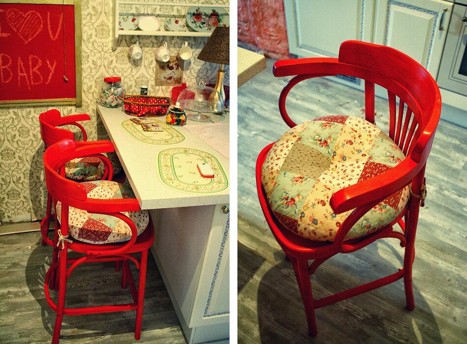 декорирование старых стульев своими руками фото важных