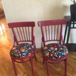 стулья после реставрации виды декора