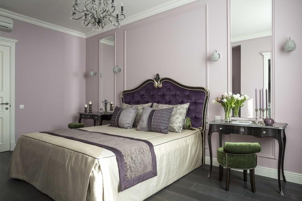 светлая спальня со светлой мебелью фото декор