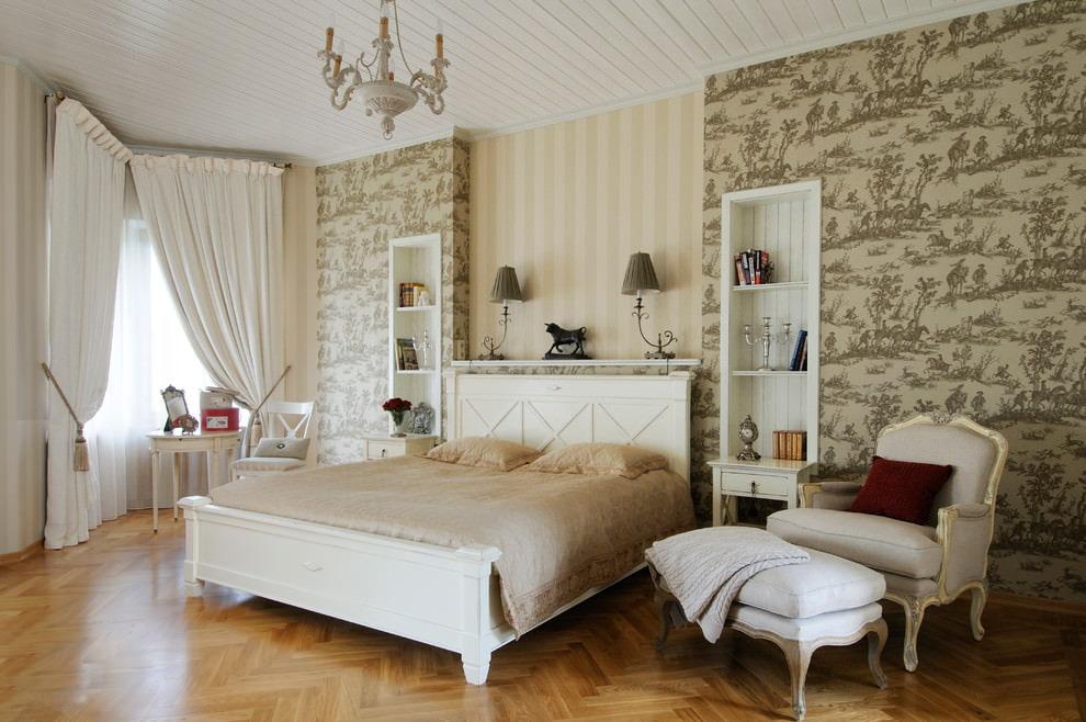 светлая спальня со светлой мебелью фото дизайна