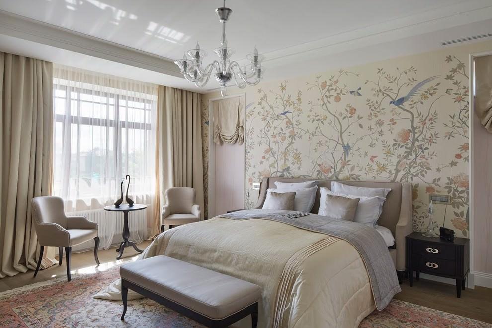 светлая спальня со светлой мебелью фото интерьера