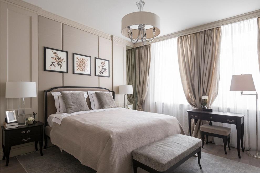 светлая спальня со светлой мебелью идеи дизайн