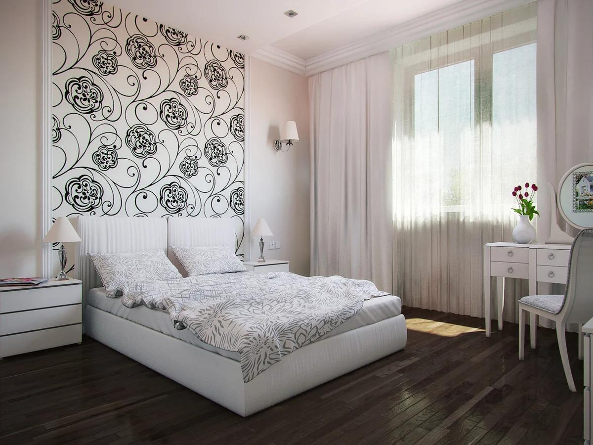 светлая спальня со светлой мебелью идеи фото