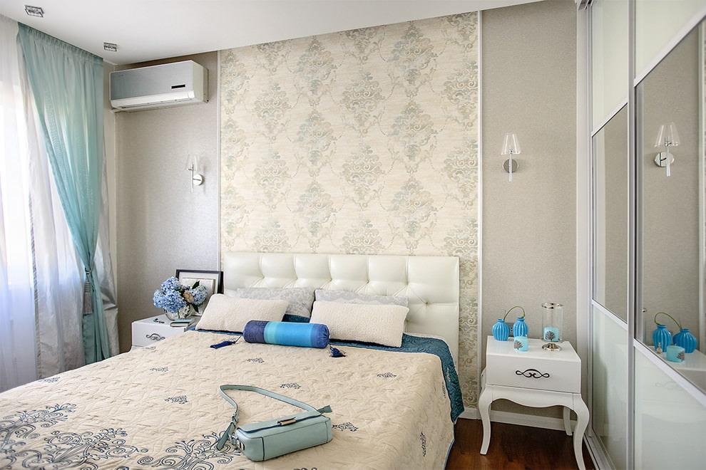 светлая спальня со светлой мебелью интерьер идеи