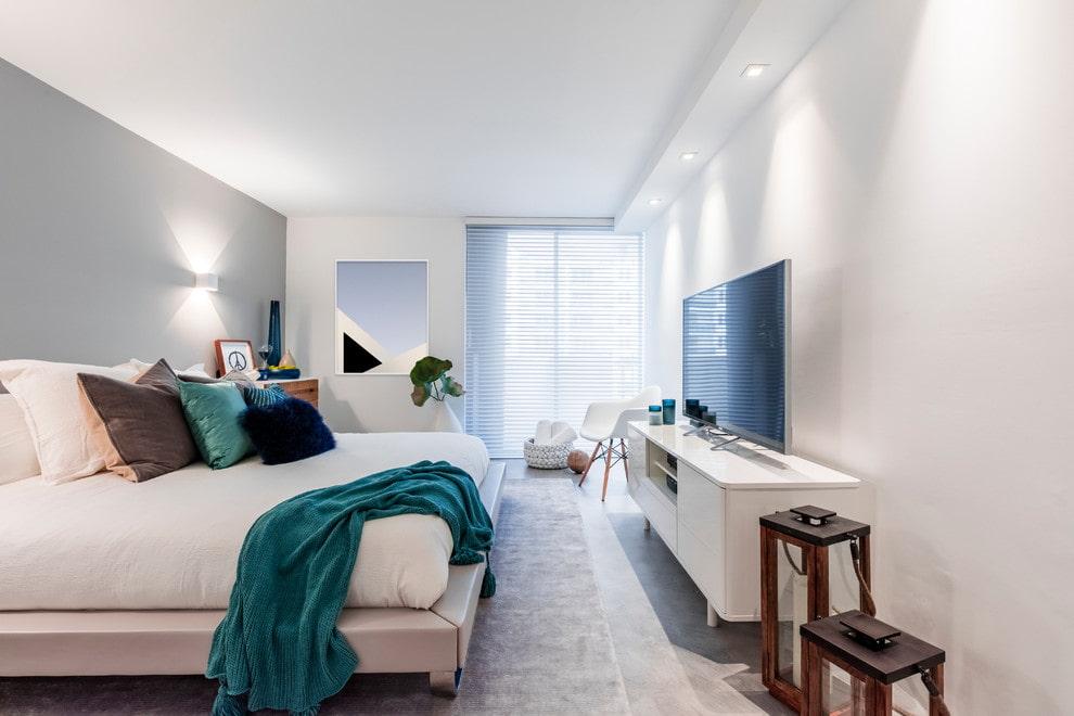расстановка мебели в спальне варианты идеи