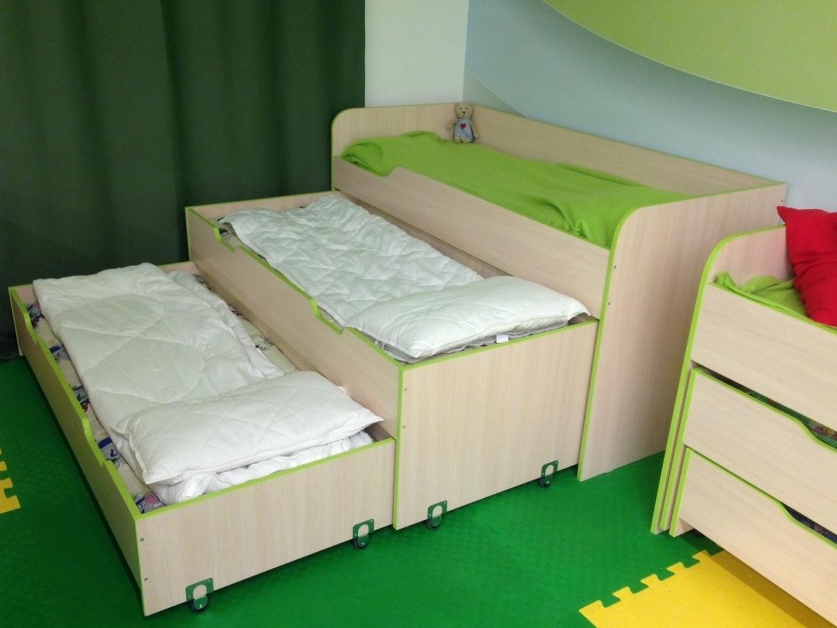 кровать матрешка для троих детей