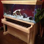 тумба под аквариум пианино