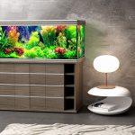 тумба под аквариум в доме