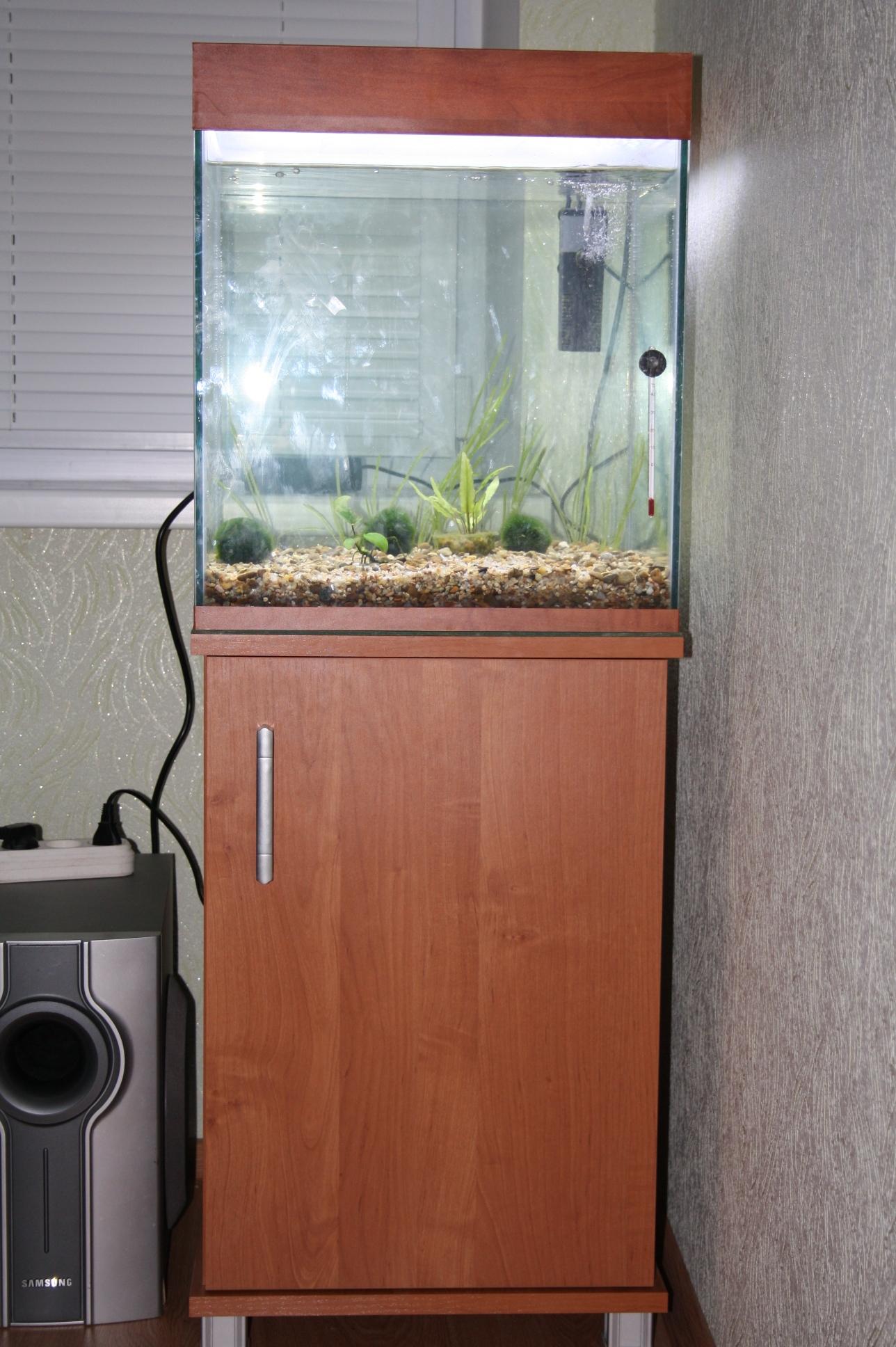 размера аквариума