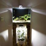 тумба под аквариум угловая