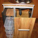тумба под мойку для кухни декор фото