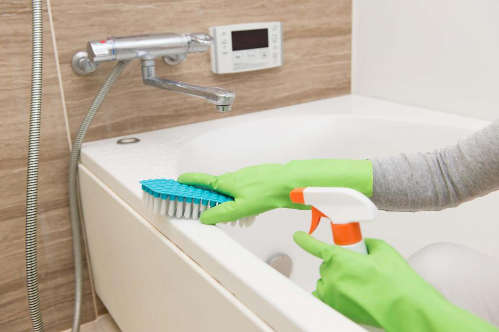 уборка ванны
