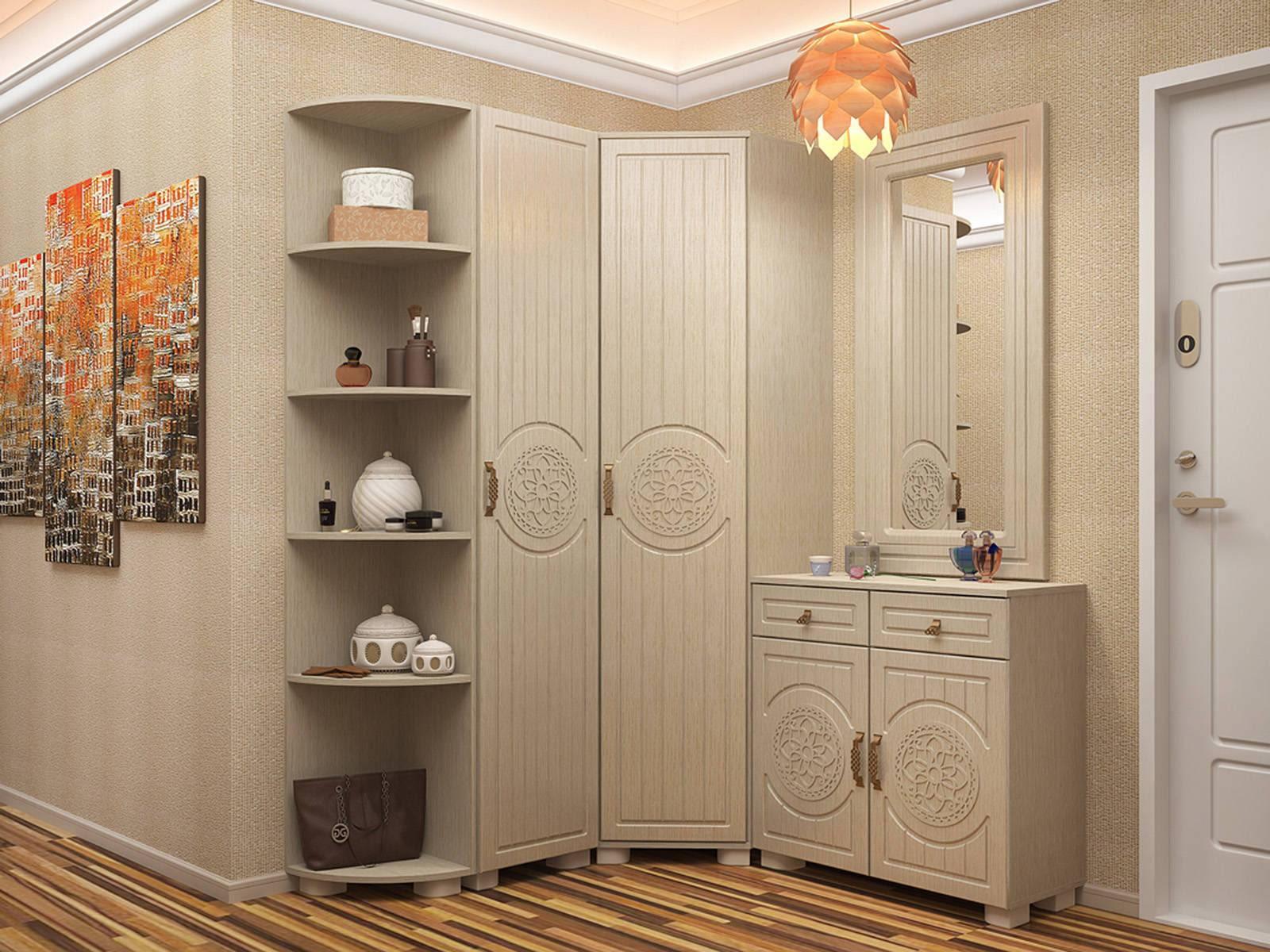 насколько фото угловых современных шкафов в прихожую квартирах, где позволяет