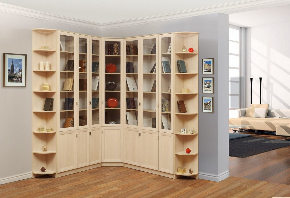 Шкаф стеллаж для книг фото расположена