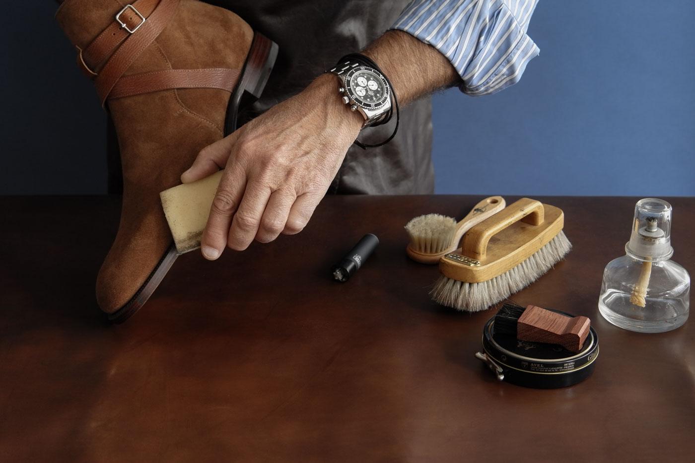 уход за обувью народными способами