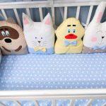 подушки-игрушки в кровать новорожденного