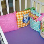 съемные чехлы для подушек в детскую кровать