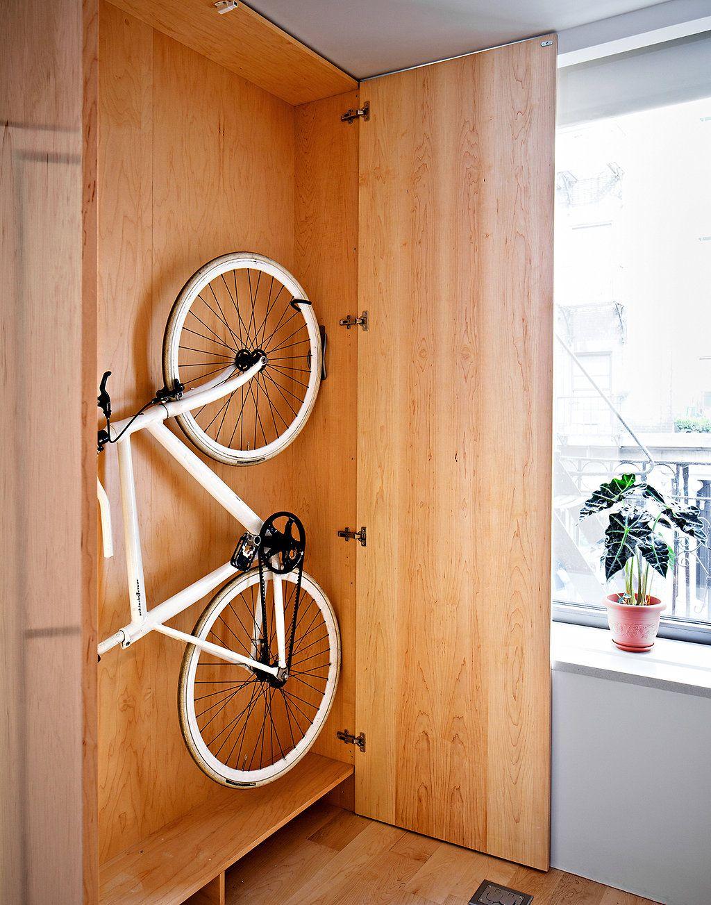 время для хранения велосипеда