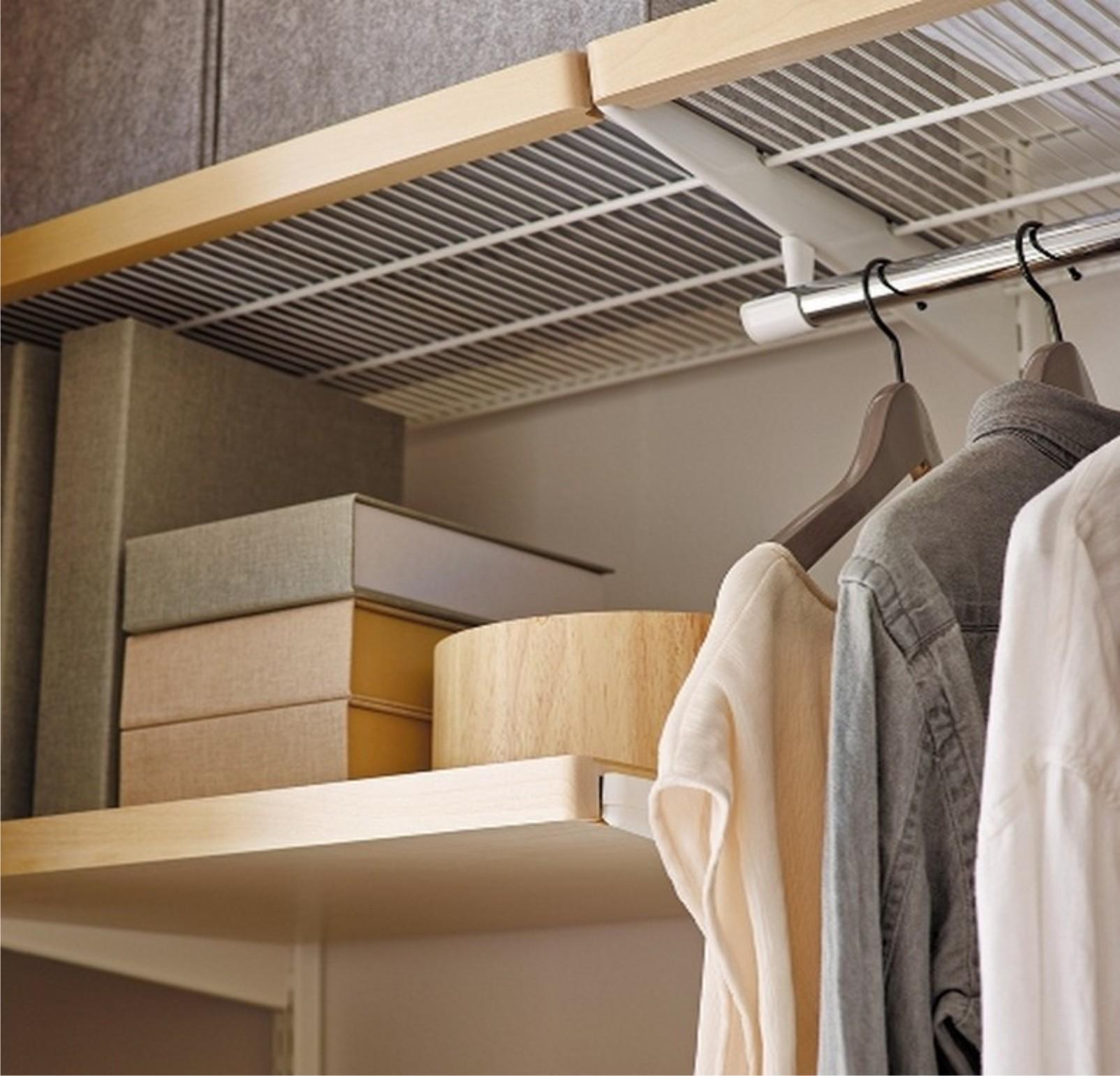 вторая штанга в шкафу