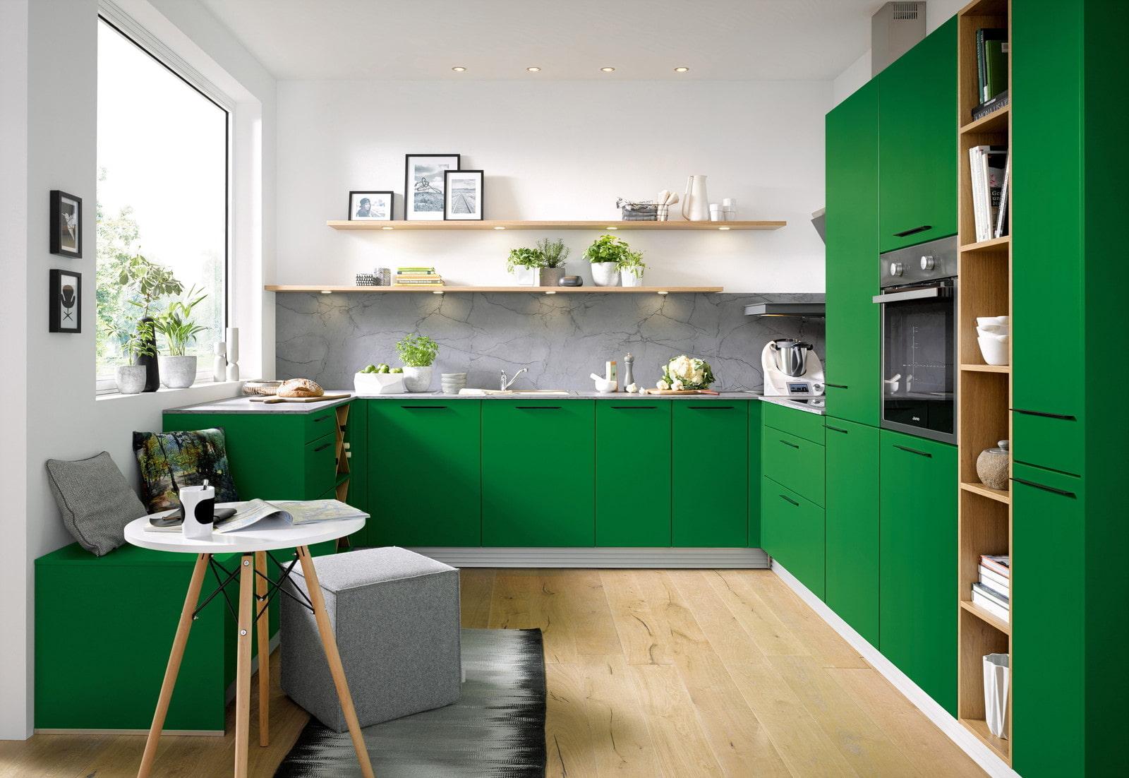 говорить, что картинки дизайн кухни в зеленом цвете элементом художник