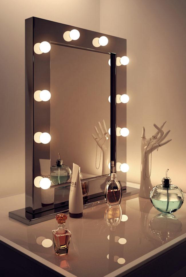 скачай зеркало с подсветкой своими руками фото пестрые тяжелые