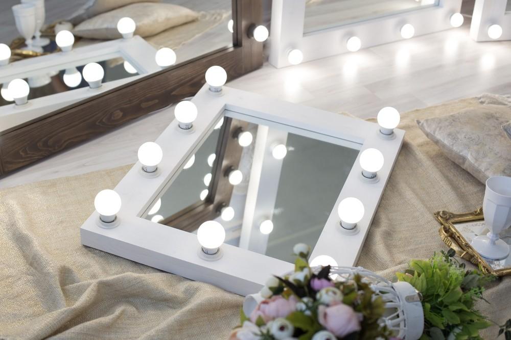 зеркало с подсветкой своими руками фото сошьет сандалии или