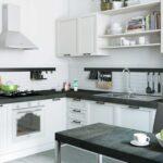 стильные кухни белая
