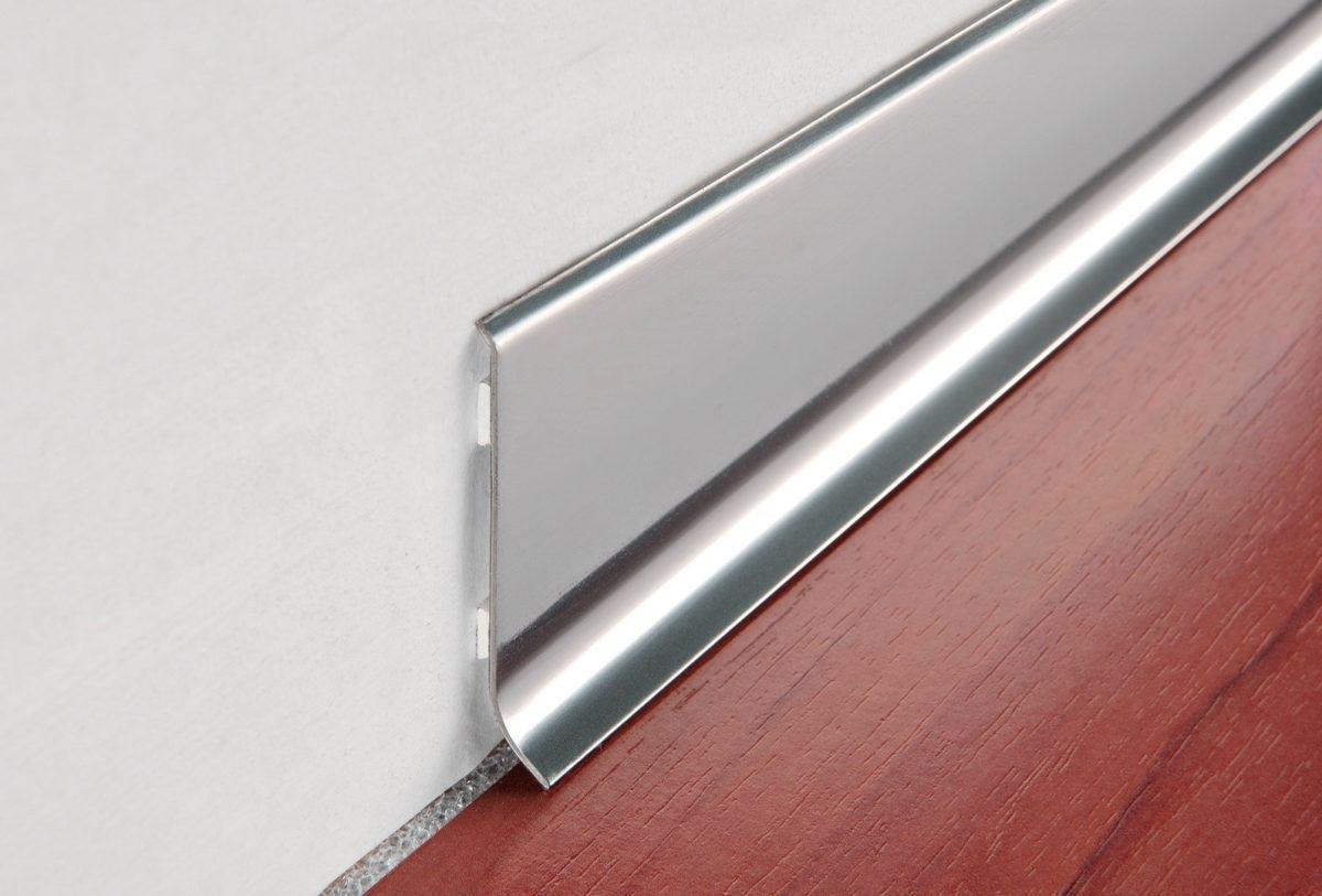 алюминиевый плинтус для столешницы фото