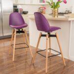 барный стул фиолетовый