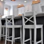 барный стул белый деревянный