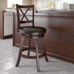 барный стул коричневый