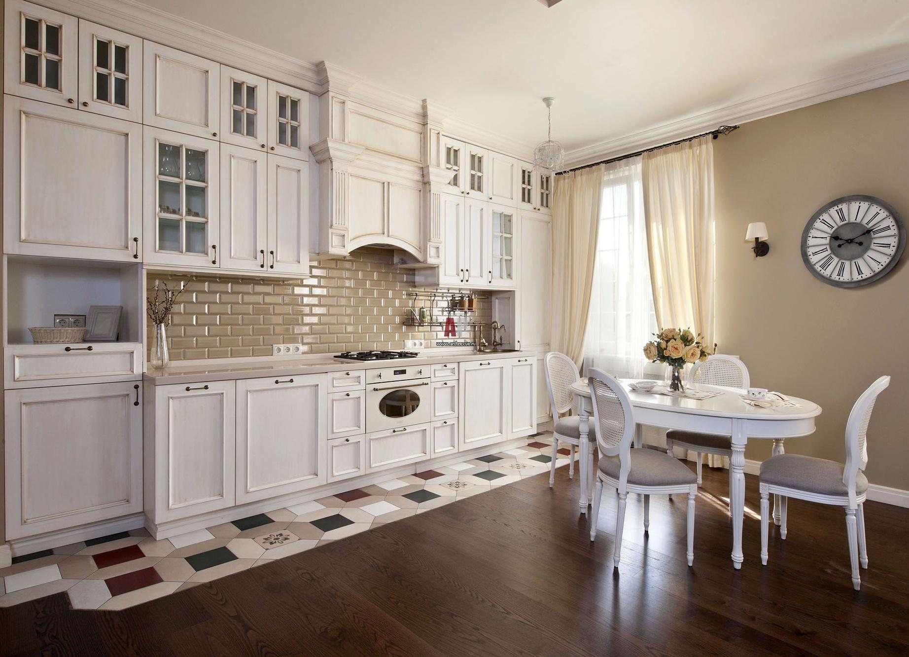 Кухня в белом цвете дизайн фото и цвет стен