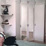 белая мебель шкаф