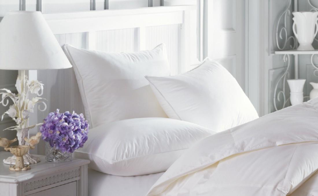 белое постельное бельё